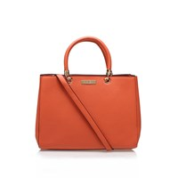 Carvela Kurt Geiger Darla Structured Tote Orange