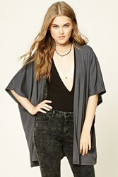 Forever 21 Open Front Dolman Cardigan