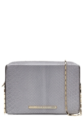 Roland Mouret Python Leather Shoulder Bag