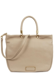 Marc By Marc Jacobs Too Hot To Handle Beige Leather Tote