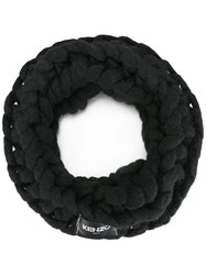 Kenzo Chunky Knitted Snood Black