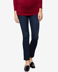 A Pea In The Pod Maternity Dark Wash Straight Leg Jeans