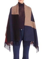 Joie Petronille Colorblock Shawl Multi