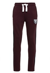 Superdry Applique Fives Joggers Red