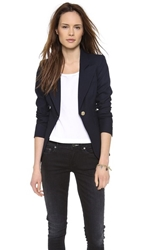 Smythe One Button Blazer Navy
