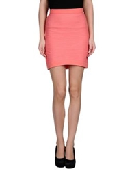 Byblos Mini Skirts Coral