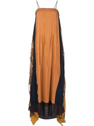 Maiyet 'Long Kaftan' Dress Brown