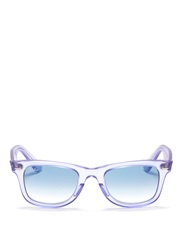 Ray Ban 'Original Wayfarer Ice Pop' Sunglasses Purple