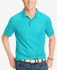 Izod Performance Advantage Pique Polo Blue Radiance