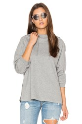 James Perse Oversized Hoodie Gray
