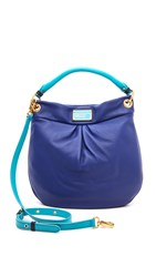Marc By Marc Jacobs Classic Q Colorblock Hillier Hobo Bright Royal Mult