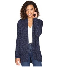 Rvca All In Cardigan Sweater Ink Women's Sweater Navy