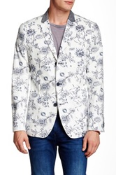 Howe Floral Cotton Three Button Riptide Blazer Multi