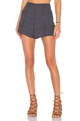 House Of Harlow X Revolve Grace Tie Waist Short Navy