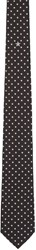 Givenchy Black And White Stars Tie