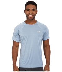 The North Face Better Than Naked Short Sleeve Shirt Faded Denim Men's Short Sleeve Pullover Blue
