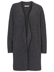 Betty And Co. Long Cardigan Dark Blue White