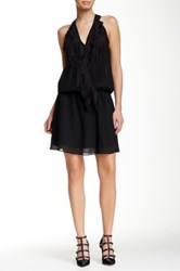 Yoana Baraschi Harlem Fringe Sway Dress Black
