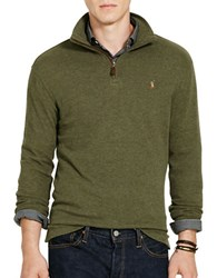 Polo Ralph Lauren Ribbed Cotton Pullover Green