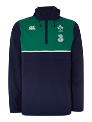 Canterbury Of New Zealand Ireland Showerproof Jacket Navy