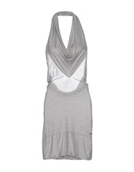 Phard Dresses Knee Length Dresses Women Light Grey