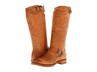 Frye Veronica Slouch Camel Soft Vintage Leather Women's Pull On Boots Tan