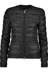 Add Quilted Shell Jacket Black