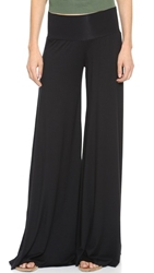Rachel Pally Wide Leg Trousers Black