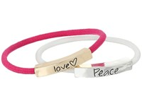 The Sak Sakroots By Love Peace Elastic Bracelet Set Multi Bracelet