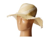 Bcbgmaxazria Pom Pom Floppy Hat White Traditional Hats