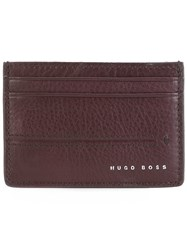 Hugo Boss Classic Cardholder Pink And Purple