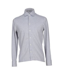 Valdoglio Shirts Light Grey