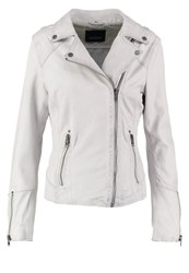 Oakwood Leather Jacket White