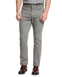 Ermenegildo Zegna Five Pocket Stretch Cotton Pants Green
