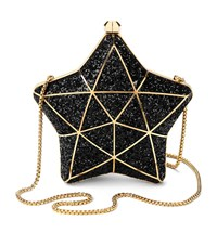 Aspinal Of London Glitter Star Clutch Bag Unisex
