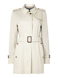 Aquascutum London Jennifer Single Breasted Jacket Cream