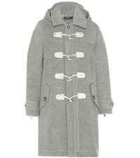 Polo Ralph Lauren Wool Duffle Coat Grey