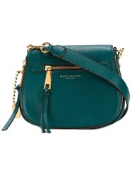 Marc Jacobs Small 'Recruit' Saddle Crossbody Bag Green