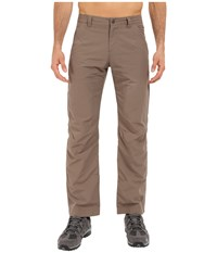 Jack Wolfskin Kalahari Pants Siltstone Men's Casual Pants Brown