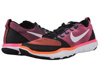 Nike Free Train Versatility Black Total Crimson Hyper Pink White Men's Cross Training Shoes