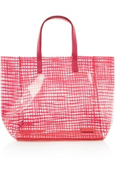 Marc By Marc Jacobs Checkmate Printed Pvc Tote
