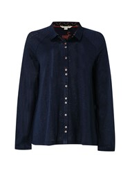 White Stuff Annetta Jersey Shirt Navy