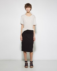 Raquel Allegra Double Layer Skirt