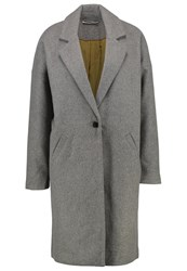 Noisy May Nmmalli Classic Coat Medium Grey Melange Mottled Grey