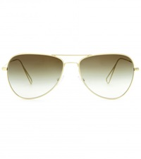 Isabel Marant Matt Teardrop Frame Sunglasses Par Oliver Peoples Gray Metallic
