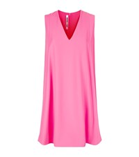 Mcq By Alexander Mcqueen V Neck Tank Dress Female Pink