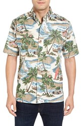Reyn Spooner Men's Hawaiian Christmas Shirt
