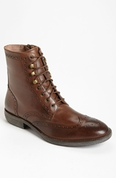 Andrew Marc New York 'Hillcrest' Wingtip Boot Men Cymbal Natural Brown Black