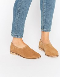 Asos Marrakech Flat Shoes Sand Beige