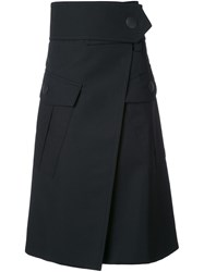 Marni Maxi Pocket Skirt Black